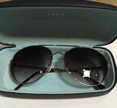 ZARA ティアドロップサングラス  一度着用のみ新品同様