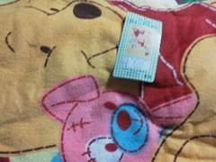 くまのプーさんジュニアケット新品サイズ約110×150cm