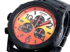 新品♪ニクソン 42-20 サンライズ×ブラック A037580