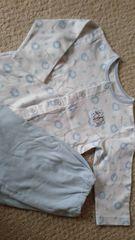 中古95パジャマクマサン柄…送料¥180