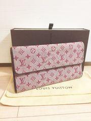 1円 ◆正規品◆ 良好 ルイヴィトン モノグラムミニ 長財布