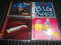 AEROSMITH『NINE LIVES』『JUST PUSH~』など国内盤4枚セット(エアロスミス