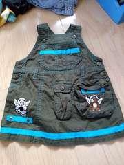 カステルバジャック ジャンパースカート サイズ80