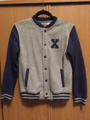 H&M スタジャン風 スウェットジャケット