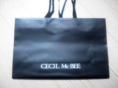 美品 セシルのショップ袋