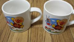 非売品 未使用  アンパンマン  マグカップ 2個セット
