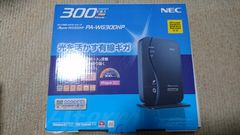 nec wifi ルーター aterm PA-WG300HP