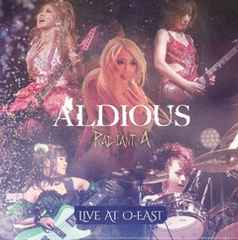 �V�iRadiant A Live at O-EAST�A���f�B�A�XAldious DVD+CD