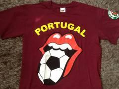 ローリングストーンズ サッカー ポルトガル コラボTシャツ