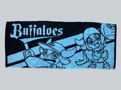 ☆【Buffaloes】フェイスタオル(青)
