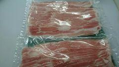 ◇業務用◇豚バラスライス1kg☆炒め物・鍋に!
