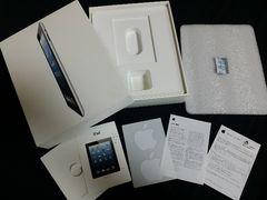 iPad 64GBの空箱 説明書、アップルシール付き