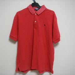 ラルフローレン M ポロシャツ 半袖 赤