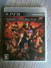 ����180�~�`��PS3 DEAD OR  LIVE5.�f�b�g�I�A�A���C�u5