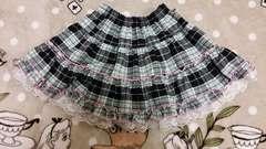 ★チェック柄スカート 130★