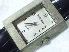 2609復活祭★BodyMax☆クラシカルメンズ腕時計お洒落スクエアケース格安で!
