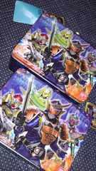 仮面ライダー鎧武ガイム120サイズ☆インナーセットまとめ売り缶バッグつき