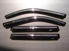 日産 ドアバイザー/サイドバイザー エクストレイル T31系