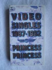 VIDEO SINGLES 1987-1992 [VHS] /�@PRINCESS PRINCESS