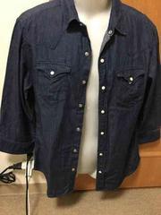 HARE ウエスタン7部袖シャツ 定価6,930円 L