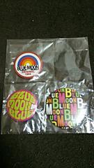 缶バッチ  BLUE  MOON BLUE  3種  新品未使用品・値下げ