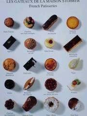 French Patisseries★ポストカード
