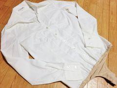 ナラカミ—チェー/Nタンガー付きタッグクロッチボディーシャツ