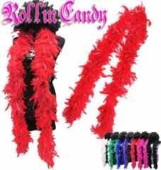 s16)キラキラ☆マラボー赤ダンスダンサーステージ衣装フェザー羽根ショールB系パーティー