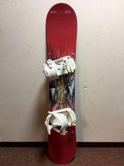 キッズ用スノーボード ワイン色  132  Hart