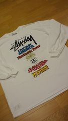 LA���A��STUSSY MARVEL���� WORLD TOUR ���ܲ� ��T 2XL XXL