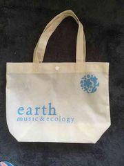 earth music&ecology(アイボリー)ショッパー 美品