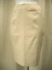 【アンドレルチアーノ】ベージュ系のタイトスカート