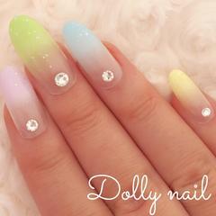 みぢょ!オーバル美爪パステルカラー5色グラデーション春夏可愛いスワロジェル