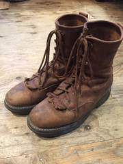 US老舗ブーツメーカー☆ウルヴァリン8ホールワークブーツ26.5cm