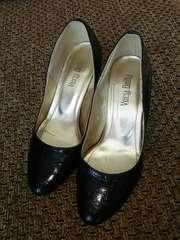 黒靴★ウェッジソール