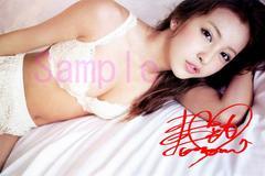 【送料無料】 AKB48板野友美 写真5枚セット<サイン入>16