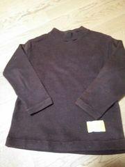 サイズ130暖かい長袖服茶系