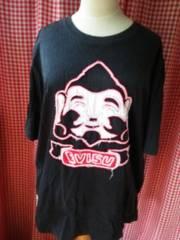L/EVISU半袖Tシャツ黒