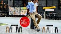 選べる2タイプ「履くだけで脚長効果」9色S-XL