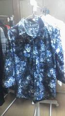 フーガ七分花柄シャツ