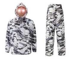 USA特殊部隊仕様ホワイトカモ防水迷彩ジャケット&パンツサイズ3L