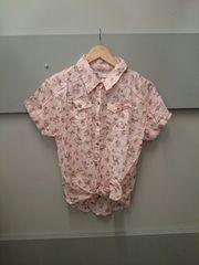 LIZ LISA☆前結びコットン半袖シャツ
