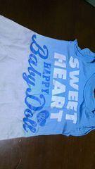 新品同様♪BABY DOLL♪王冠チュニック半袖Tシャツ♪100cm