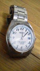 高級★☆レグノ☆ソーラーテック☆電波腕時計♪