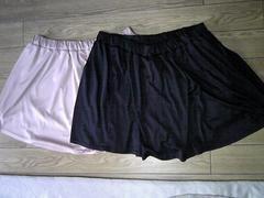 Nissen(ニッセン)★大きいサイズ★フレアスカート★カットソー生地★2色セット★