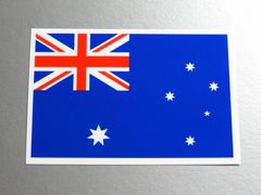 1■オーストラリア国旗ステッカー1枚 シール ☆即買!■