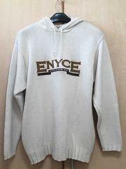 □美品《ENYCE/エニーチェ》フード付きニットセーター サイズM□