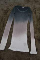 LGBルグランブルー グラデーションカットソー ロンTシャツ