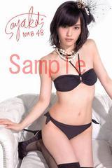 【送料無料】NMB48 山本彩 写真5枚セット<サイン入> 10