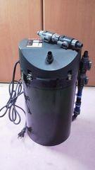エーハイム外部フィルター2217‐60Hz新品リング濾材4L付き